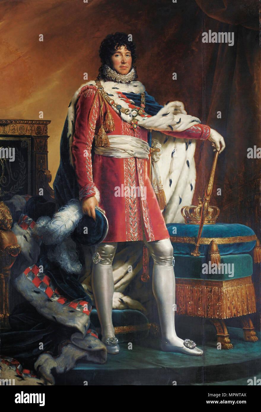 Portrait of Joachim Murat (1767-1815), c. 1811. - Stock Image
