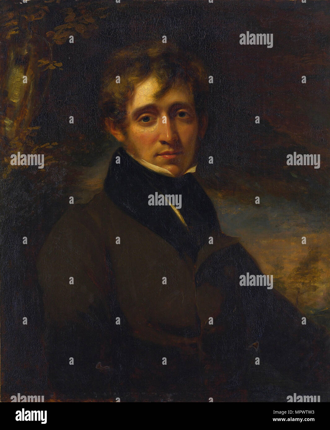 Portrait of the poet Thomas Moore (1779-1852) , 1790s. - Stock Image