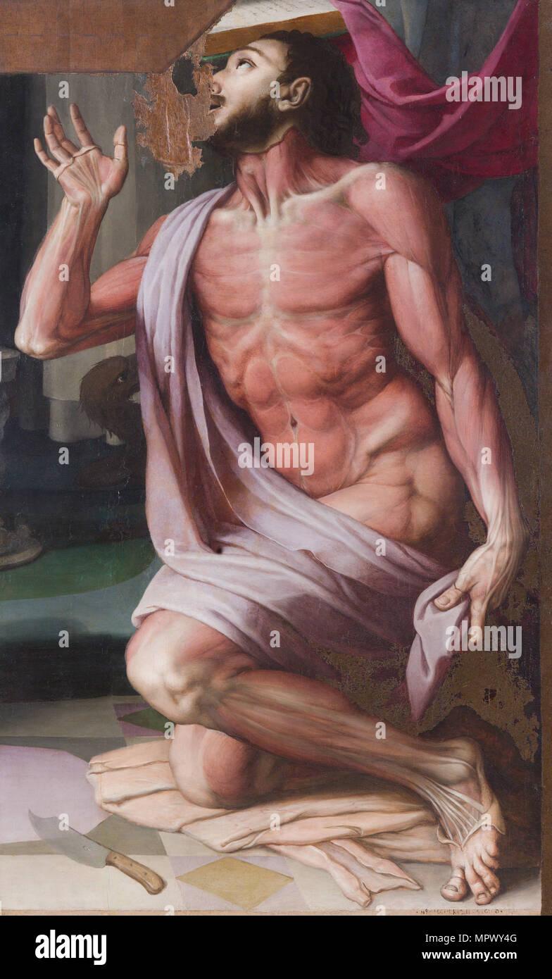Saint Bartholomew the Apostle. - Stock Image
