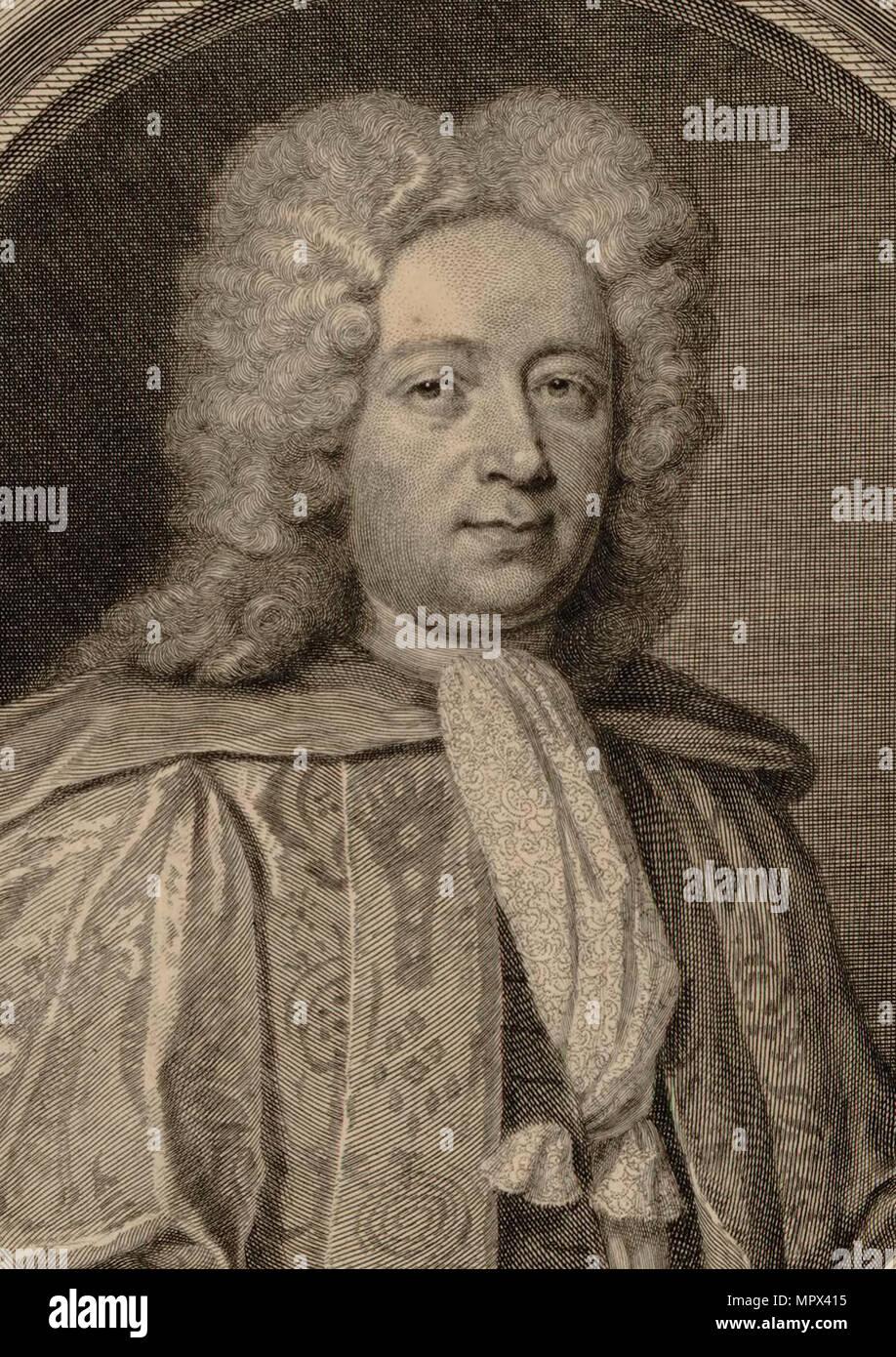 Portrait of the composer William Croft (1678-1727), 1715.
