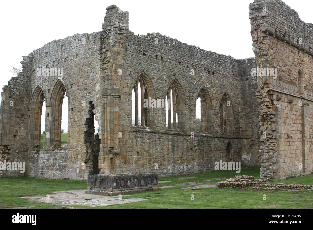 Egglestone Abbey near Barnard Castle Stock Photo