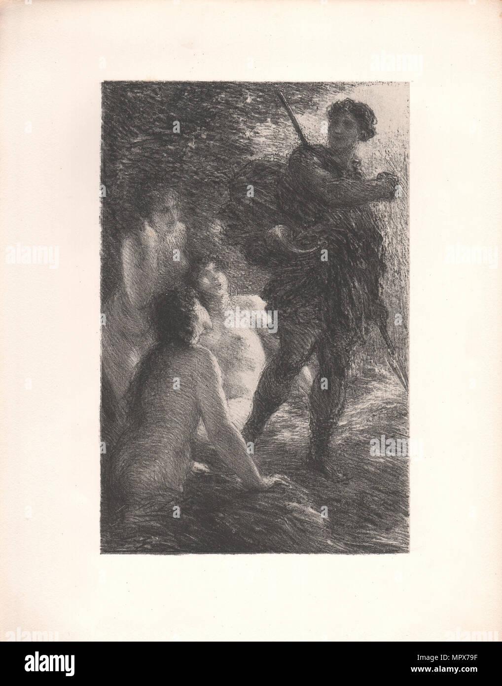 The Twilight of the Gods, 1886. - Stock Image