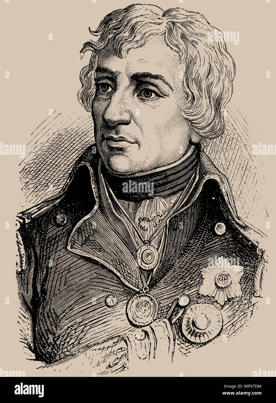 Vice-Admiral Horatio Nelson (1758-1805), 1889. - Stock Image