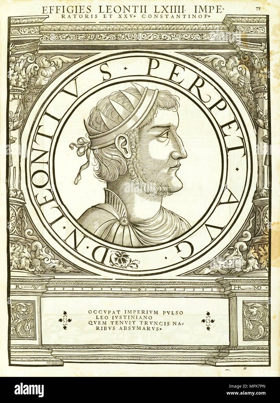Leonitus (d. 706), 1559. - Stock Image