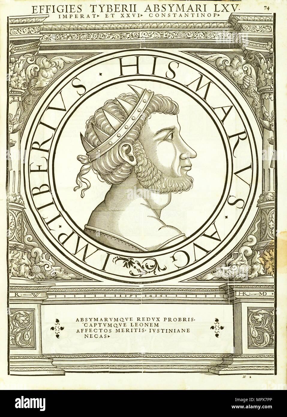 Tiberius Absymarus (d 706), 1559. - Stock Image