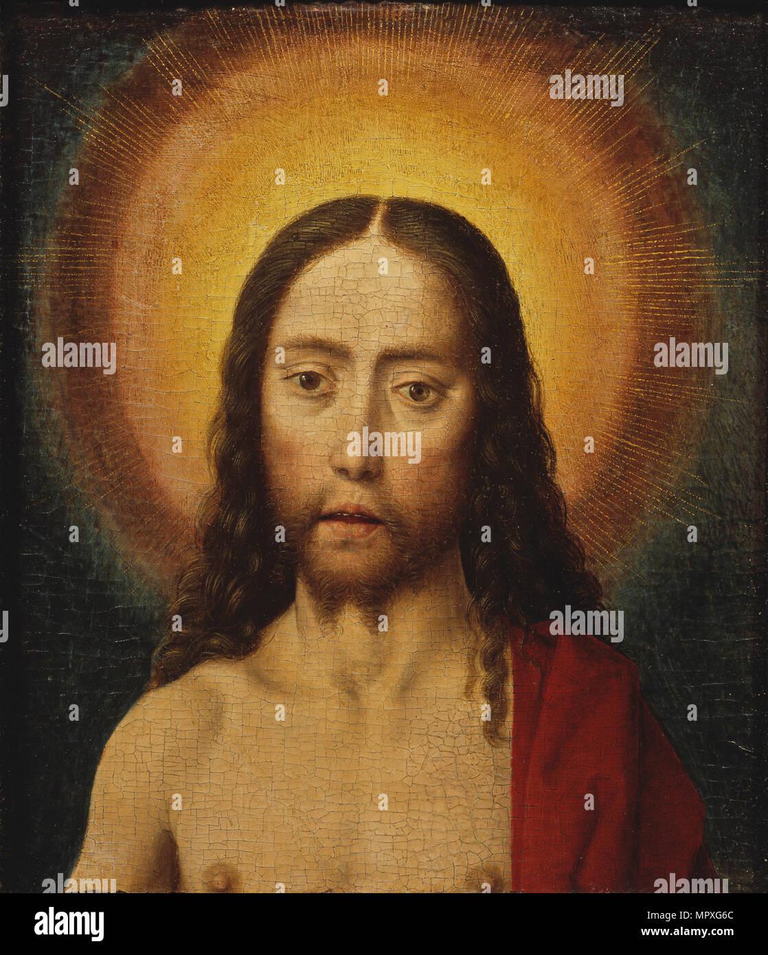 Head of Christ. - Stock Image