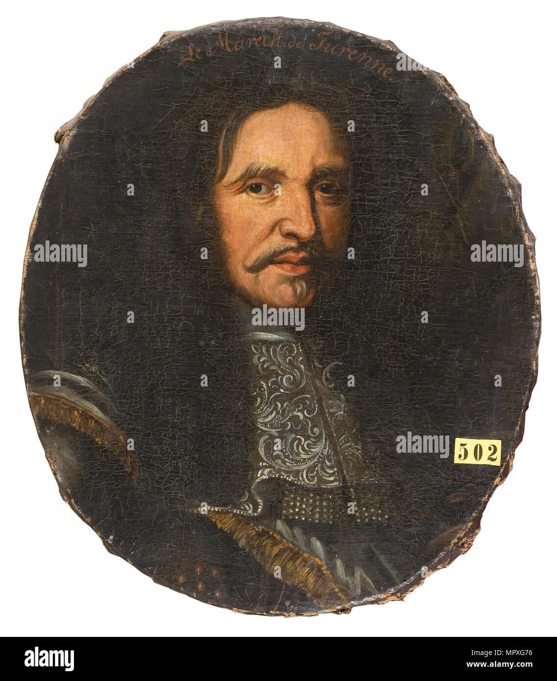 Marshal Henri de La Tour d'Auvergne, vicomte de Turenne (1611-1675). - Stock Image