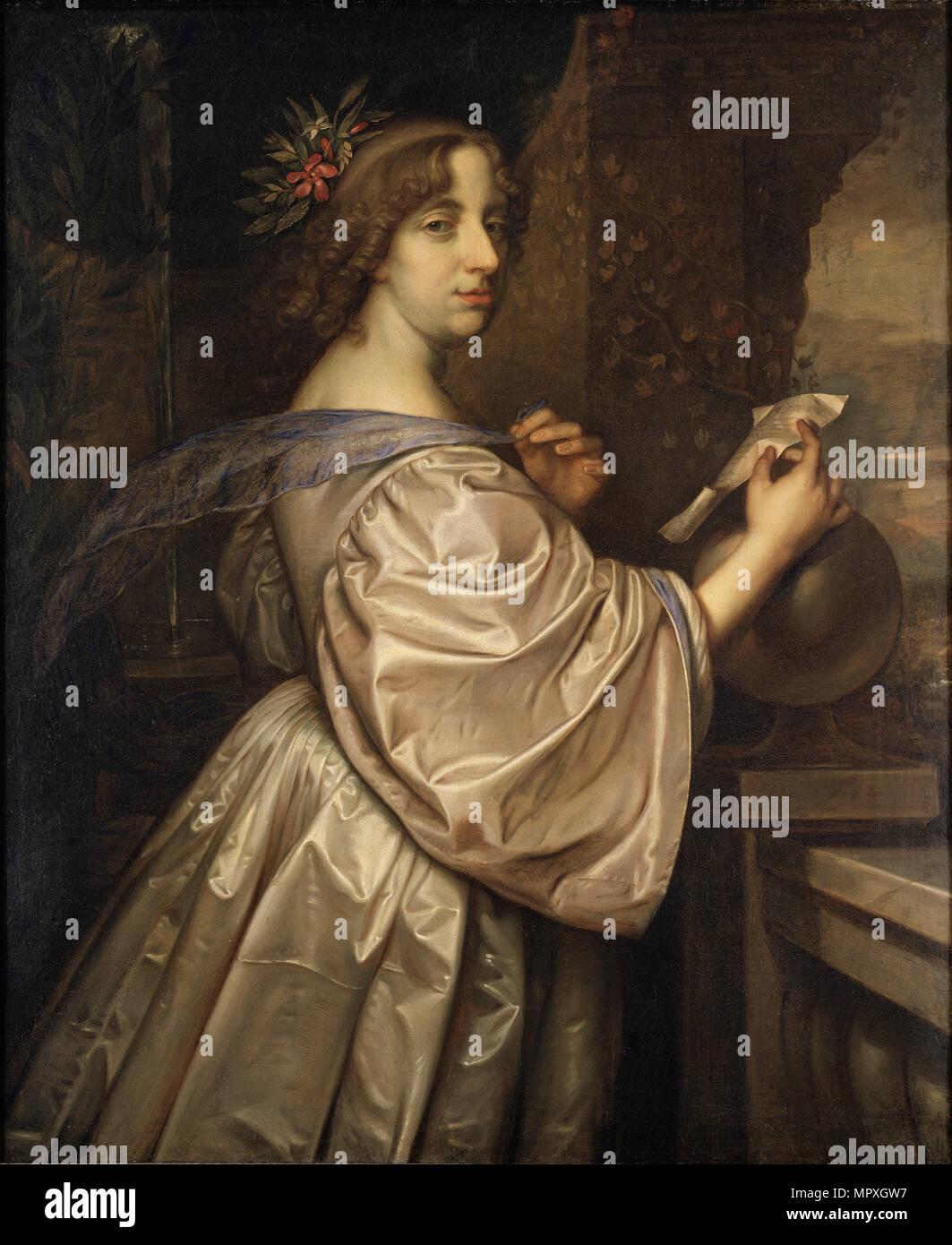 Portrait of Queen Christina of Sweden (1626-1689), 1650. - Stock Image
