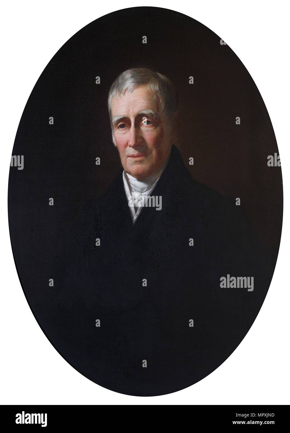 'The Rt Hon Charles Arbuthnot MP', 1849. Artist: Spiridione Gambardella. Stock Photo