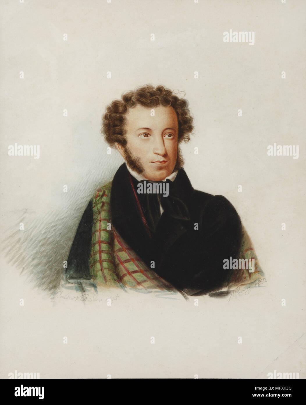 Where was Pushkin born 89
