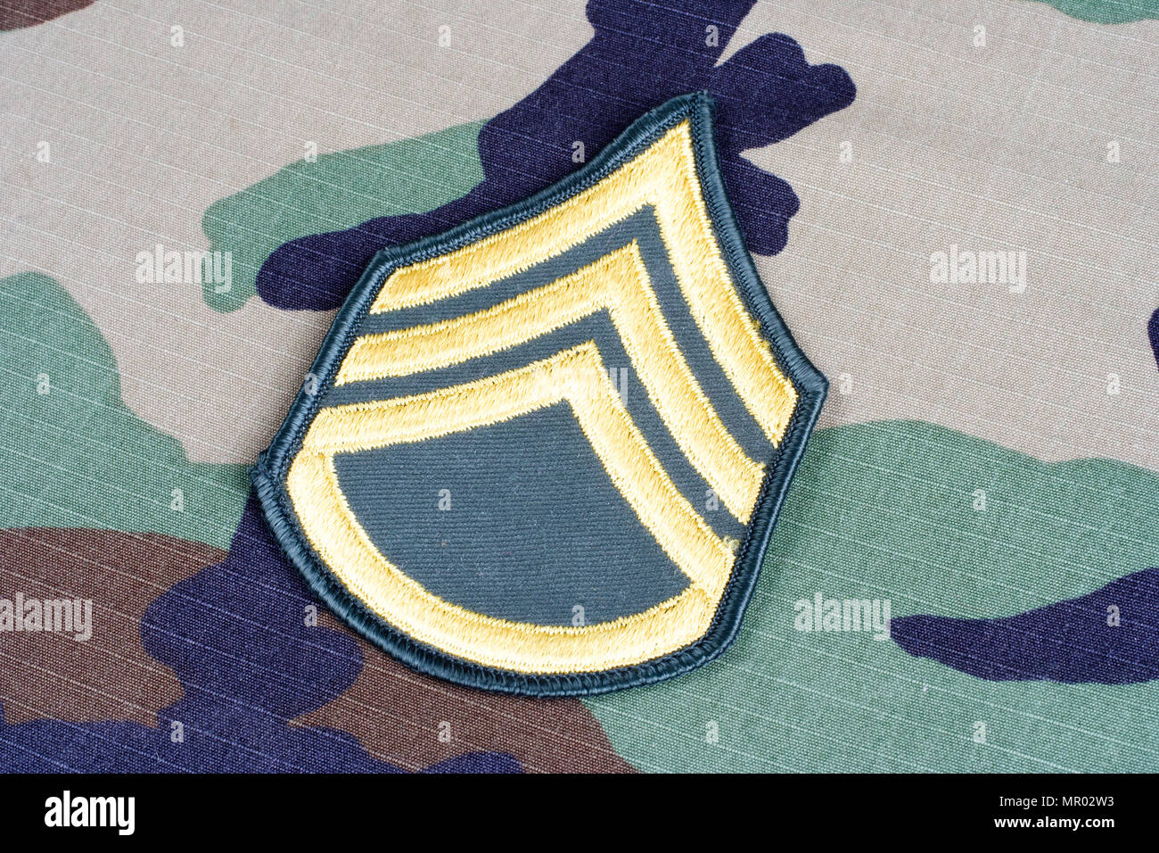 Us Army Symbol On Staff Stock Photos Us Army Symbol On Staff Stock