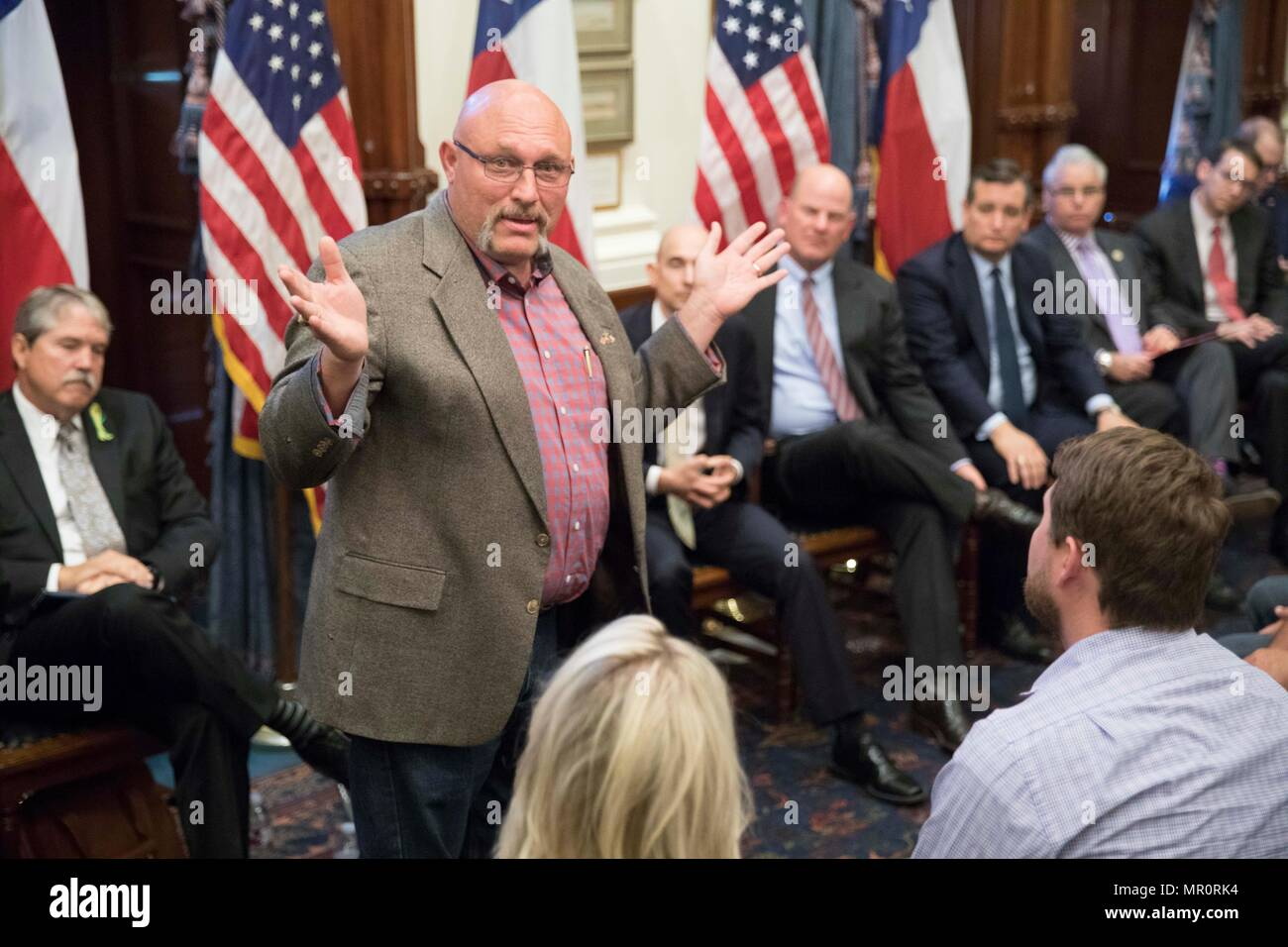 Austin Texas Usa May 24 2018 Sutherland Springs Pastor Frank