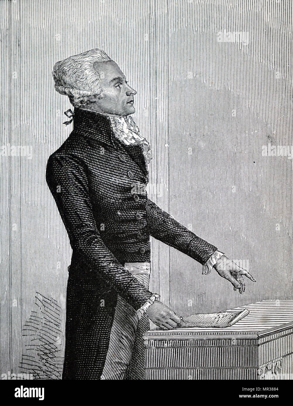 the terror known as robespierre In him also he executed hebert he was a lawyer, a member of estates-general, an official gathering of the three estates of the french realm while he was in the legislative assembly, he ruled jacobins at same time he drive away girondins which is chosen by national convention, and estabilished.