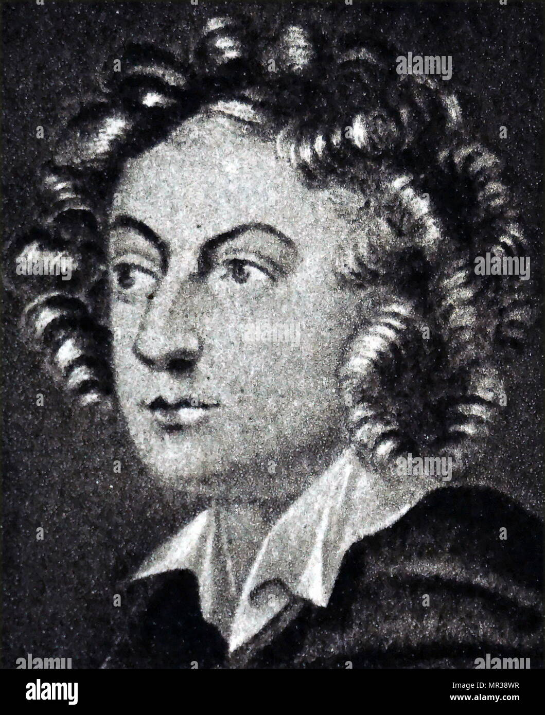 Portrait of Henry Purcell (1659-1695) an English composer. Dated 17th  century
