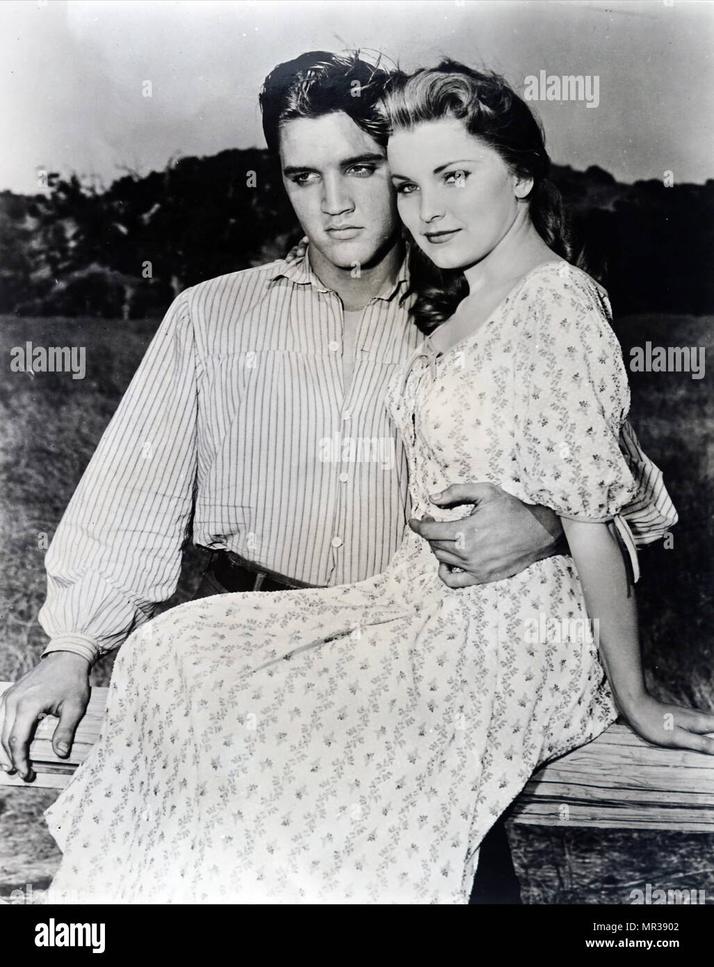 Elvis And Priscilla Presley High Resolution Stock Photography And