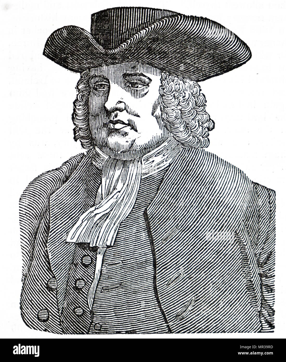 portrait of william penn 1644 1718 an english real estate entrepreneur philosopher early quaker founder of the state of pennsylvania