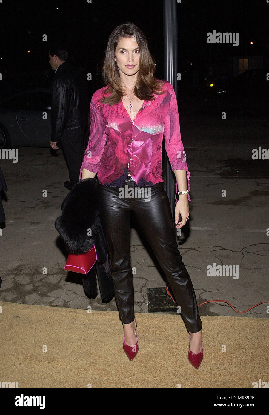 a1300ea6e09c Cindy Crawford arriving at the dinner party for the store opening of TOD s    Diego Della Valle and benefit for Autism Now and Job for a Future at the  Moomba ...
