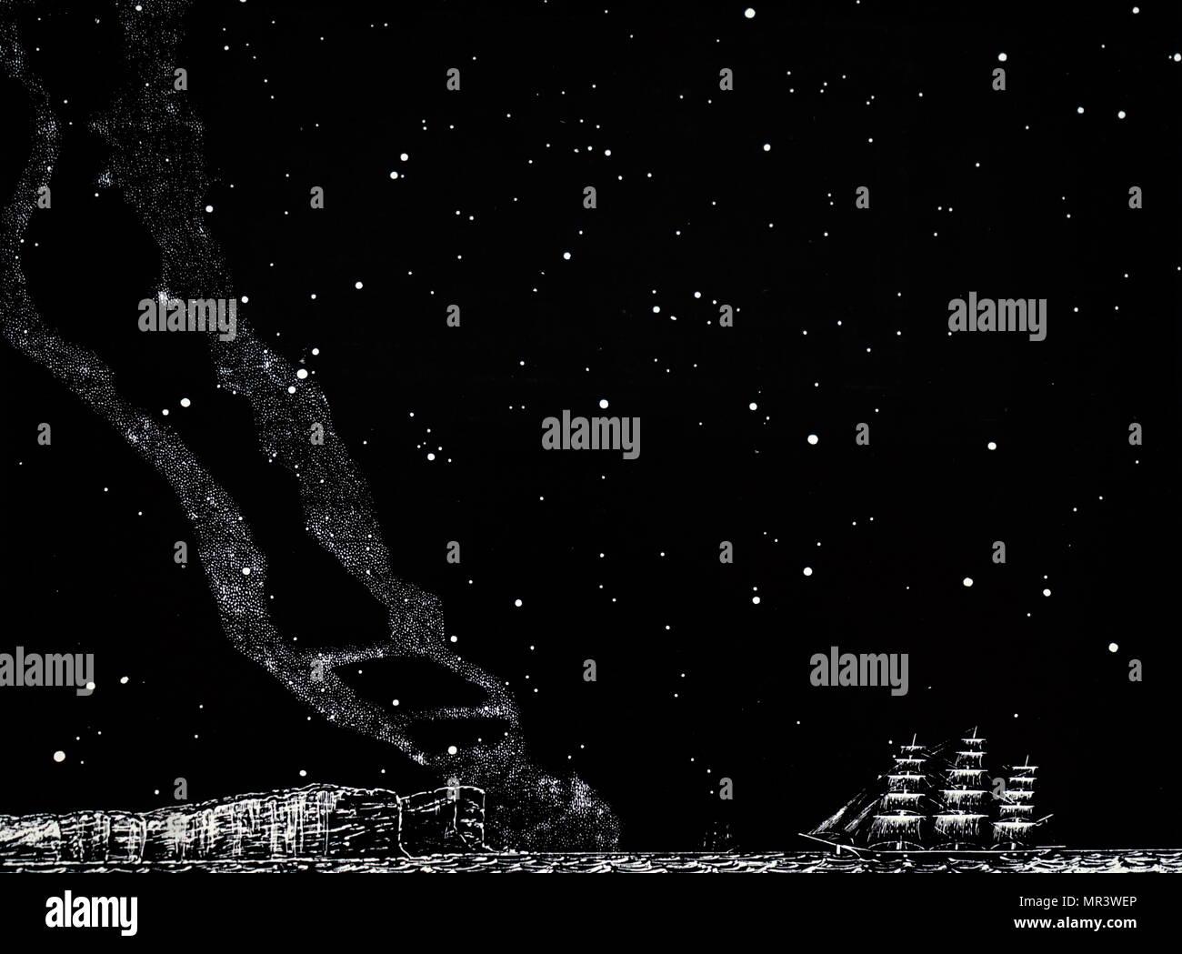 Star Sky Of The Southern Hemisphere Stock Photos & Star Sky