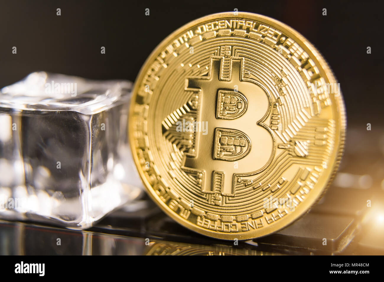 cryptocurrency coins - Bitcoin, Litecoin, Ethereum, Ripple