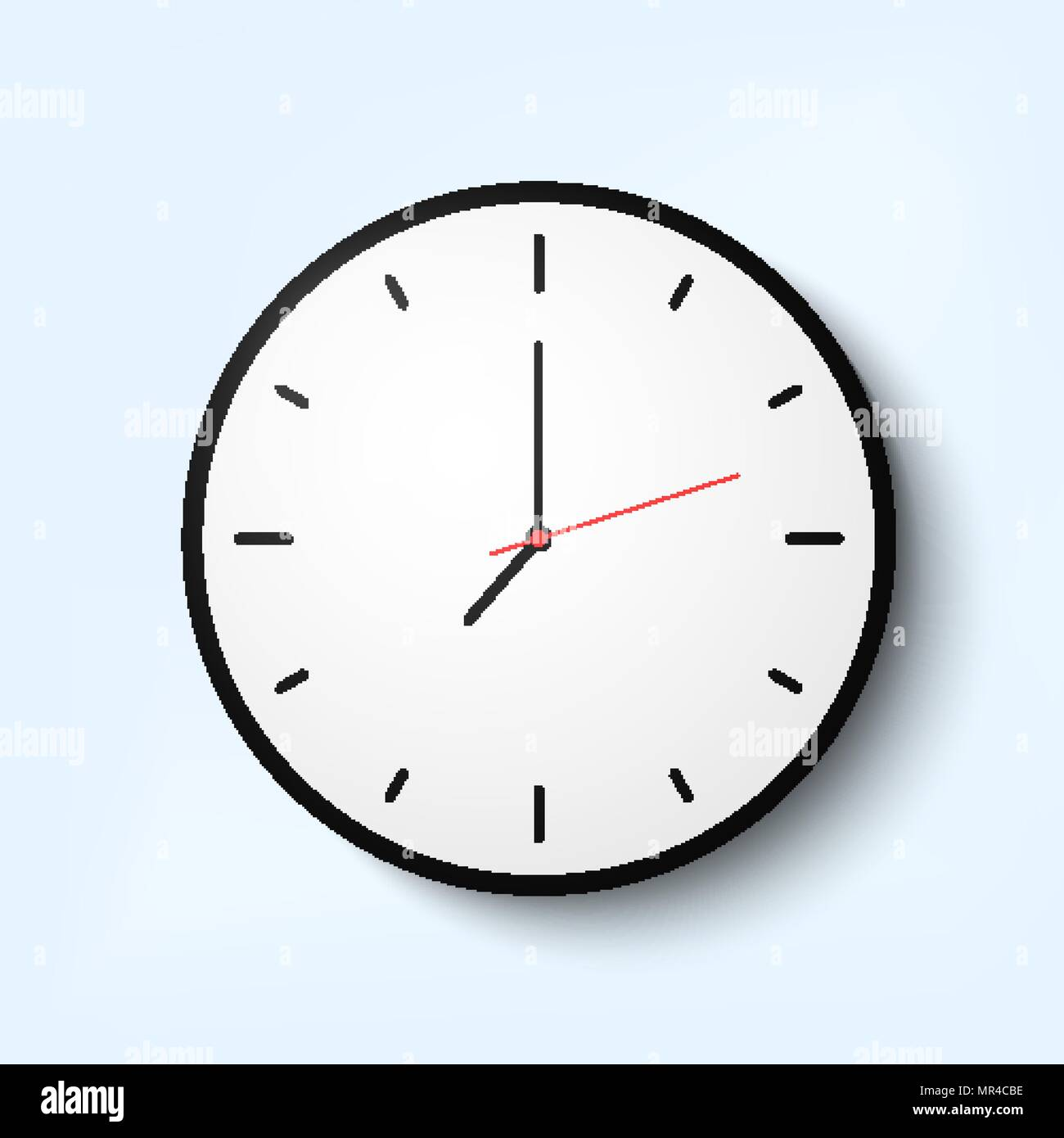 Quartz Clock Stock Photos Images Alamy Timer From Old Electronics For You Light Wall With Thin Time Arrows Image