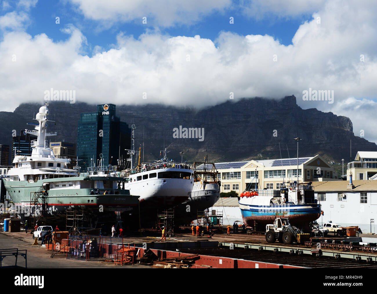 The Portside Tower in Cape Town. - Stock Image