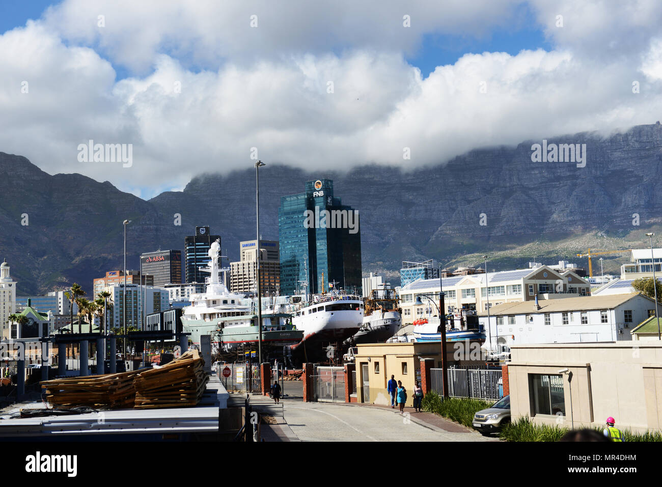 The Portside Tower in Cape Town. Stock Photo