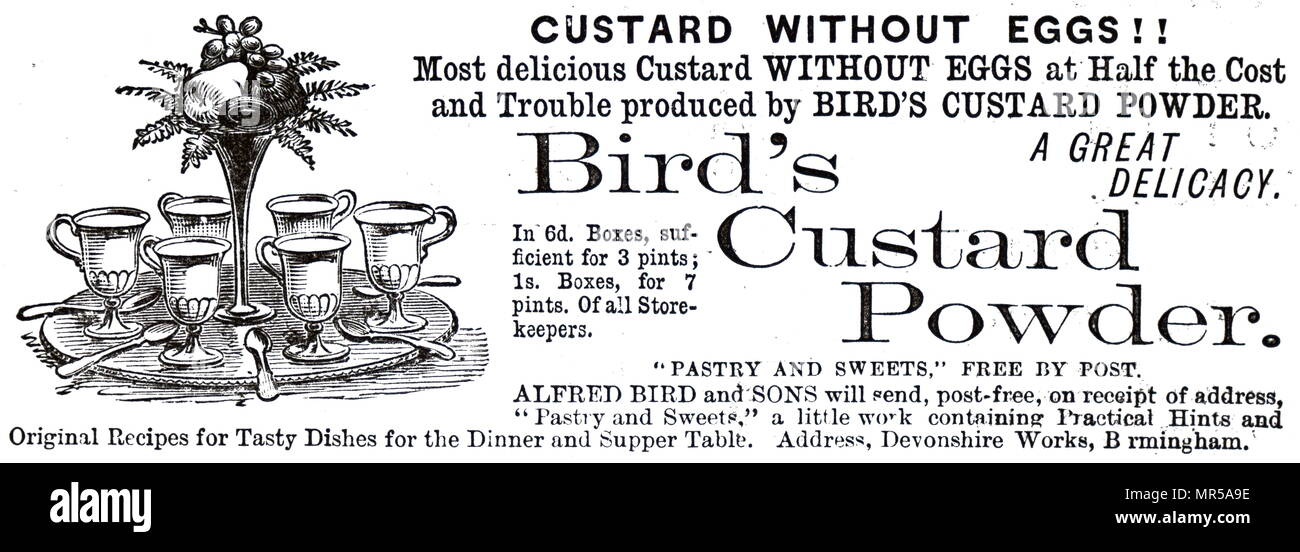 Birds Custard Stock Photos Birds Custard Stock Images Alamy