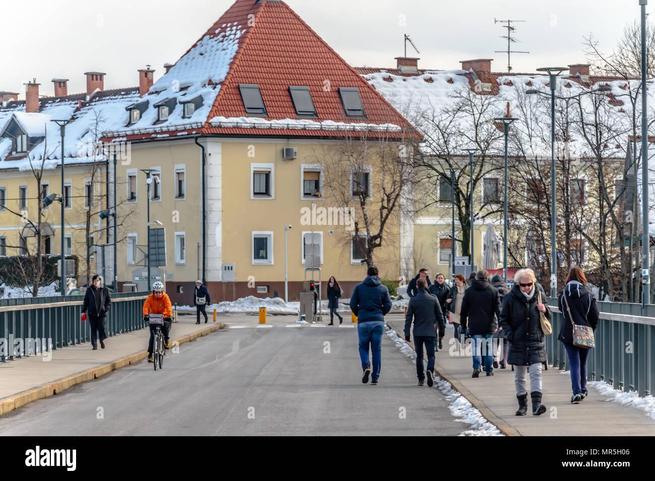 Postna ulica - Stock Image