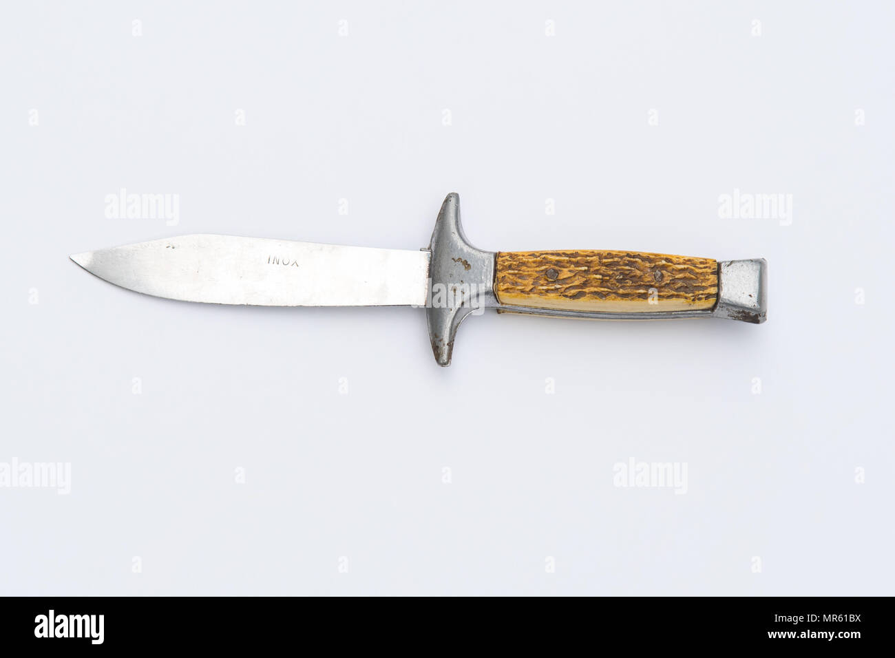 INOX 1970s scout knife - Stock Image