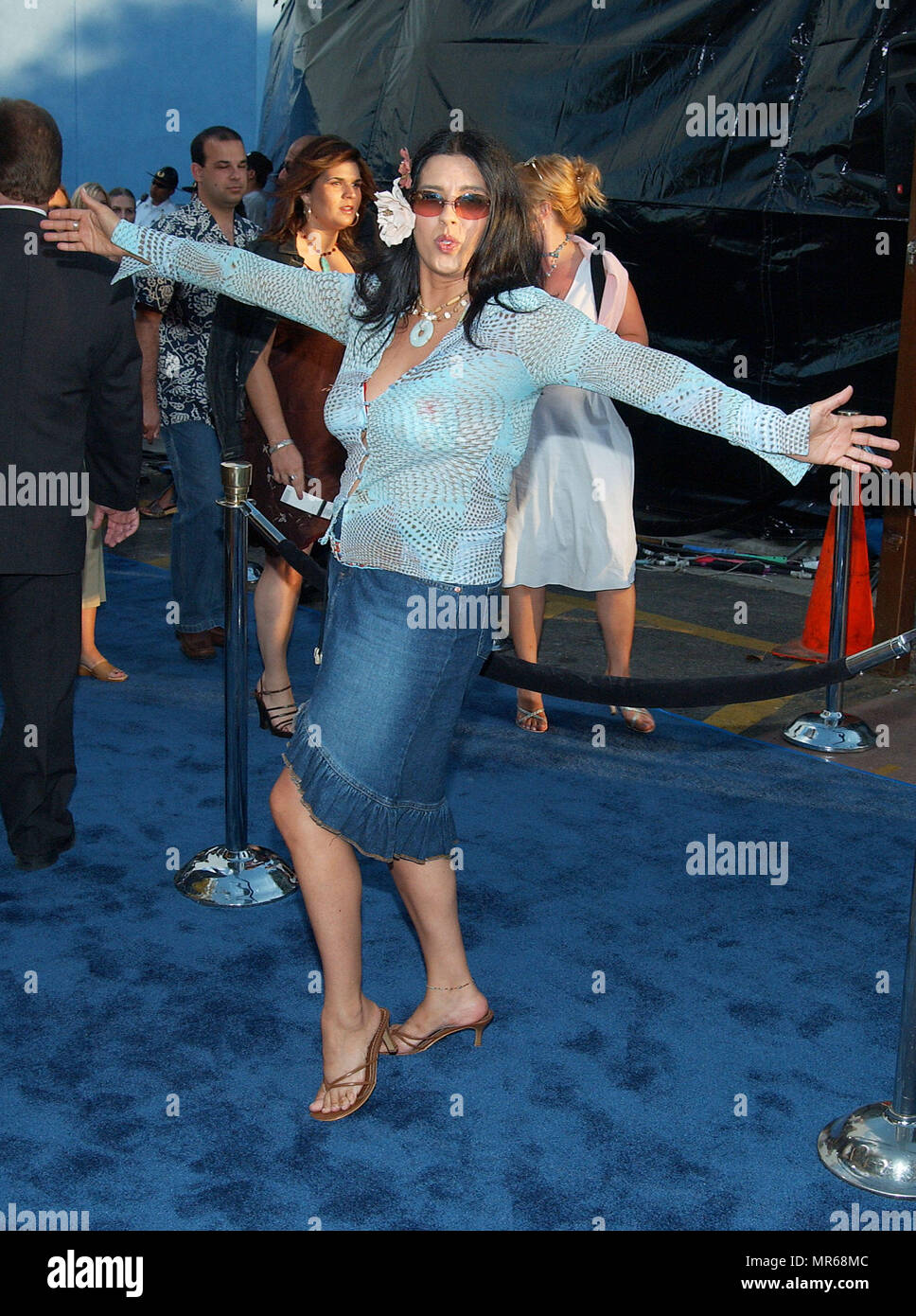 Rebekah Del Rio Arriving At The Blue Crush Premiere At The Universal Amphitheatre In Los Angeles August 8 2002 Delriorebekah30 Red Carpet Event Vertical Usa Film Industry Celebrities Photography Bestof Arts Culture