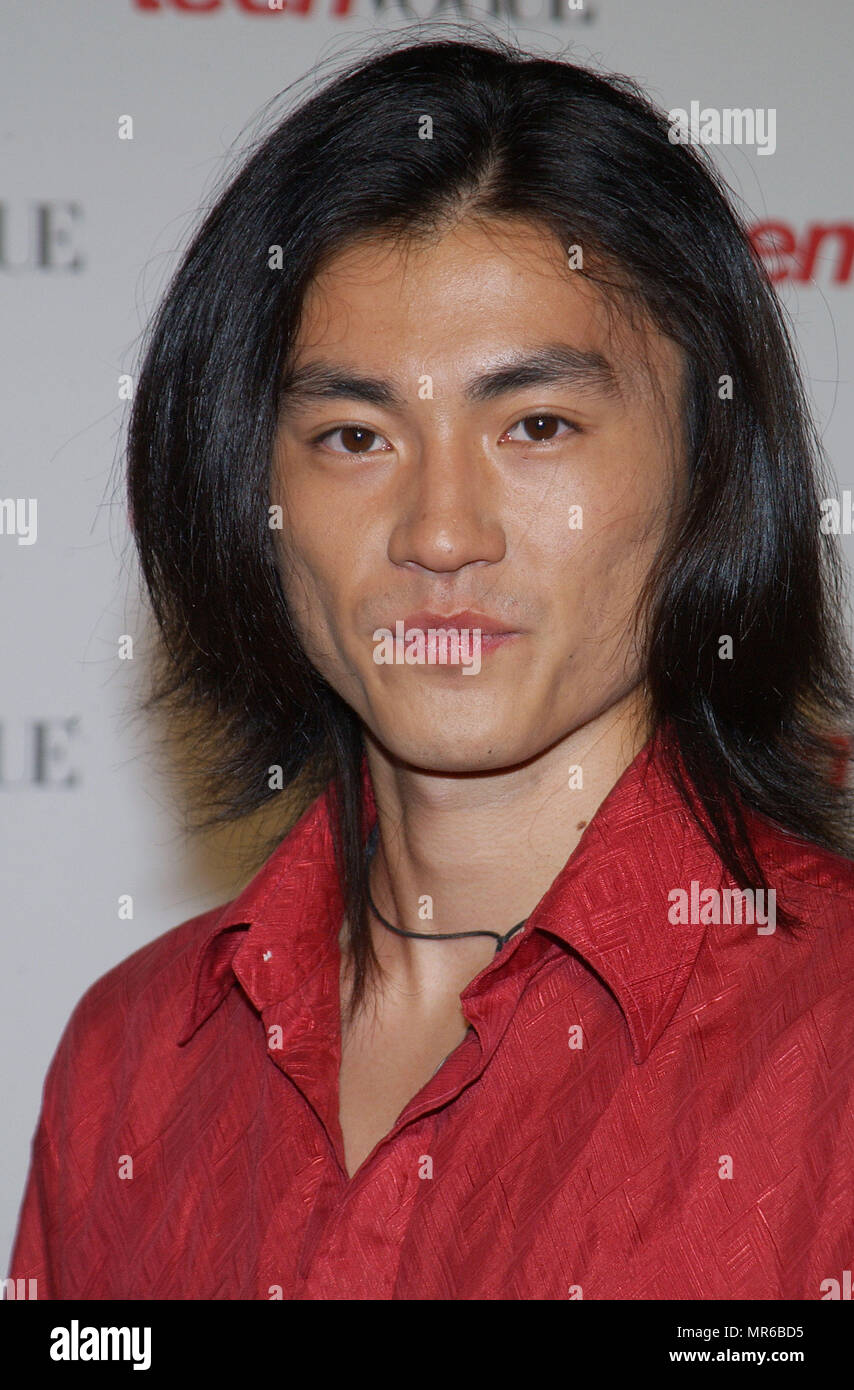 "Shin Koyamada (Tom Cruise's co-star in The Last Samurai) arriving at the "" TEEN VOGUE 1ST ANNUAL YOUNG HOLLYWOOD ISSUE "" in  a private residence in Beverly Hills (Los Angeles). September 5, 2003.  KoyamadaShin110 Red Carpet Event, Vertical, USA, Film Industry, Celebrities,  Photography, Bestof, Arts Culture and Entertainment, Topix Celebrities fashion /  Vertical, Best of, Event in Hollywood Life - California,  Red Carpet and backstage, USA, Film Industry, Celebrities,  movie celebrities, TV celebrities, Music celebrities, Photography, Bestof, Arts Culture and Entertainment,  Topix, headshot,  Stock Photo"