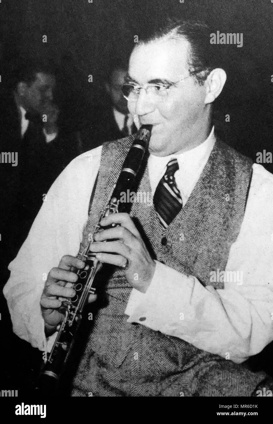 Glenn Miller (1904 –  1944), American big band musician, arranger, composer, and bandleader in the swing era. He was the best-selling recording artist from 1939 to 1943, leading one of the best known big bands - Stock Image