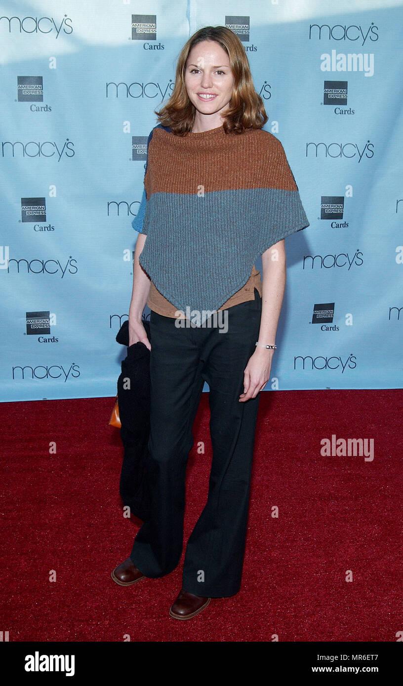 Jorja Fox - CSI - arriving at the 20th Macy's and American