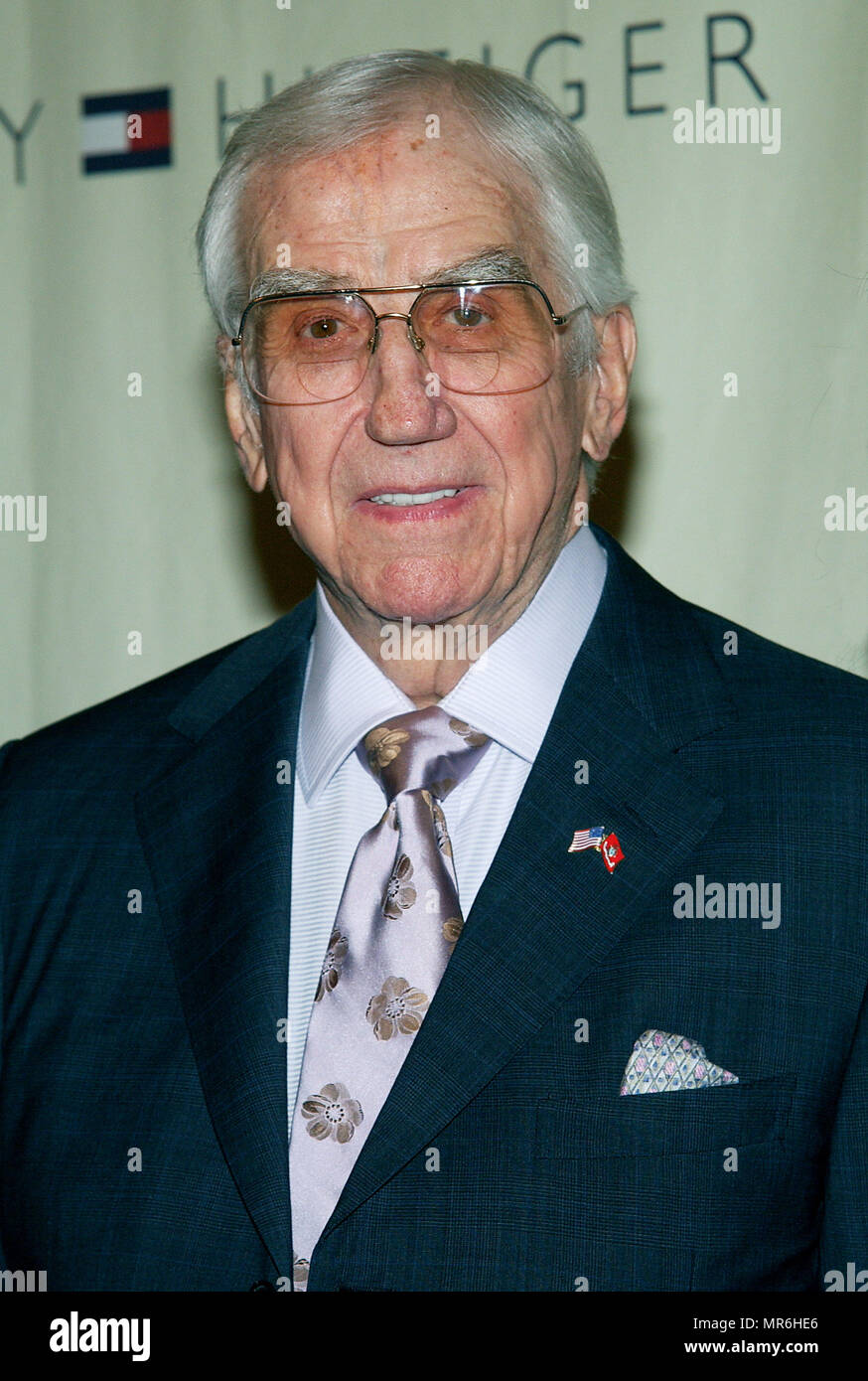 Ed McMahon arriving at the 10th Annual Race To Erase