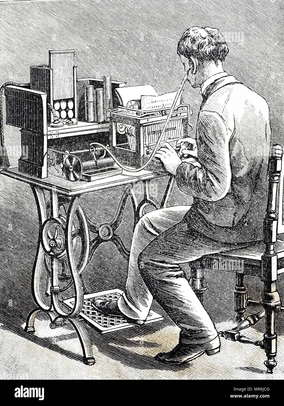 Treadle Stock Photos & Treadle Stock Images - Alamy