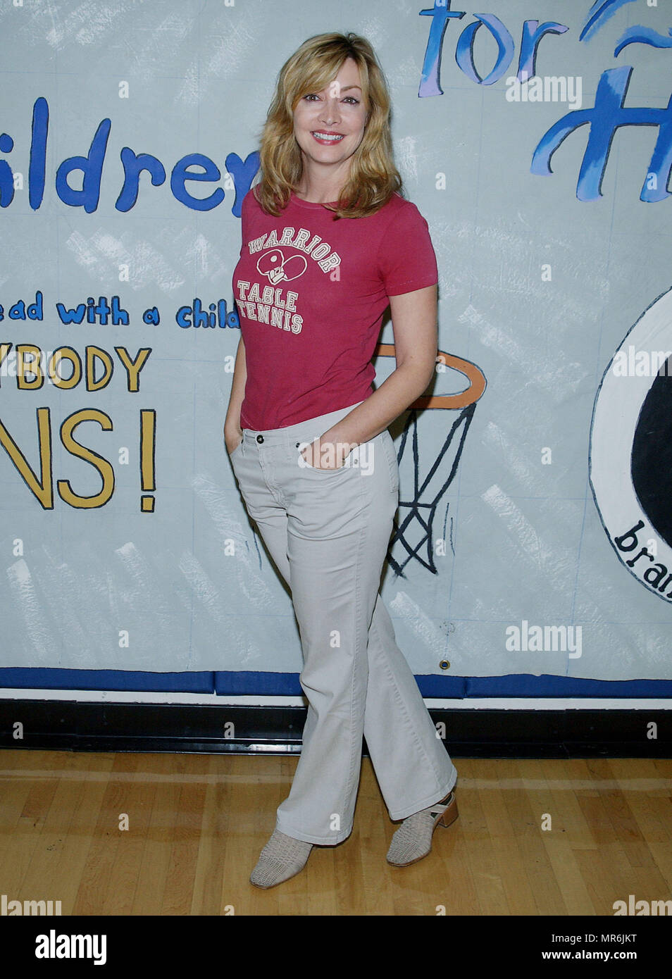 Sharon Lawrence At The Annenberg Foundation Celebrity Basketball