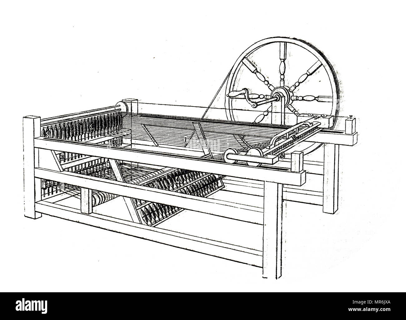 advantages of the spinning jenny