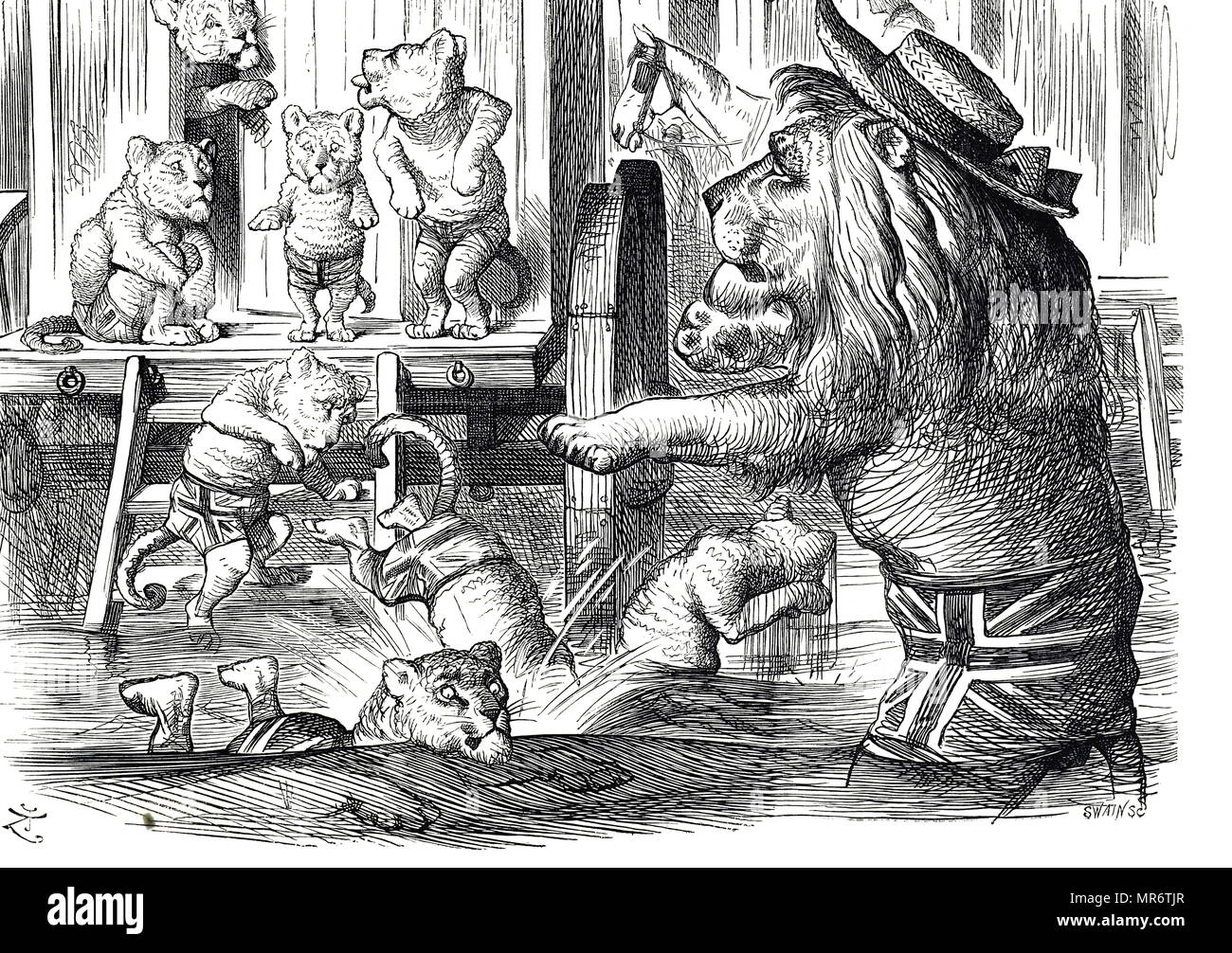british lion cartoon stock photos british lion cartoon stock