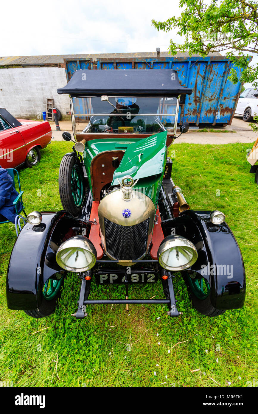 Vintage Automobile Front Center With One Headlight : Circa s stock photos images alamy