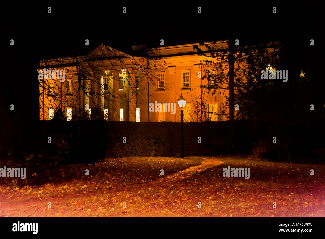 Himley Hall Earl of Dudley home in the West Midlands - Stock Image