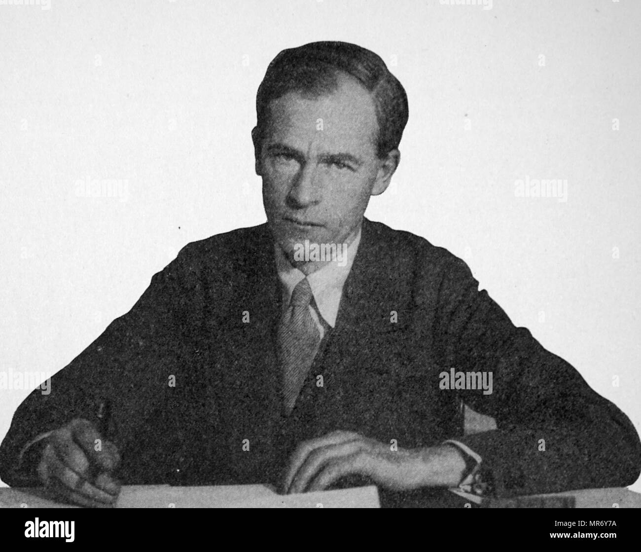 George Douglas Howard Cole (25 September 1889 – 14 January 1959) was an English political theorist, economist, writer and historian. As a libertarian socialist he was a long-time member of the Fabian Society and an advocate for the co-operative movement. - Stock Image