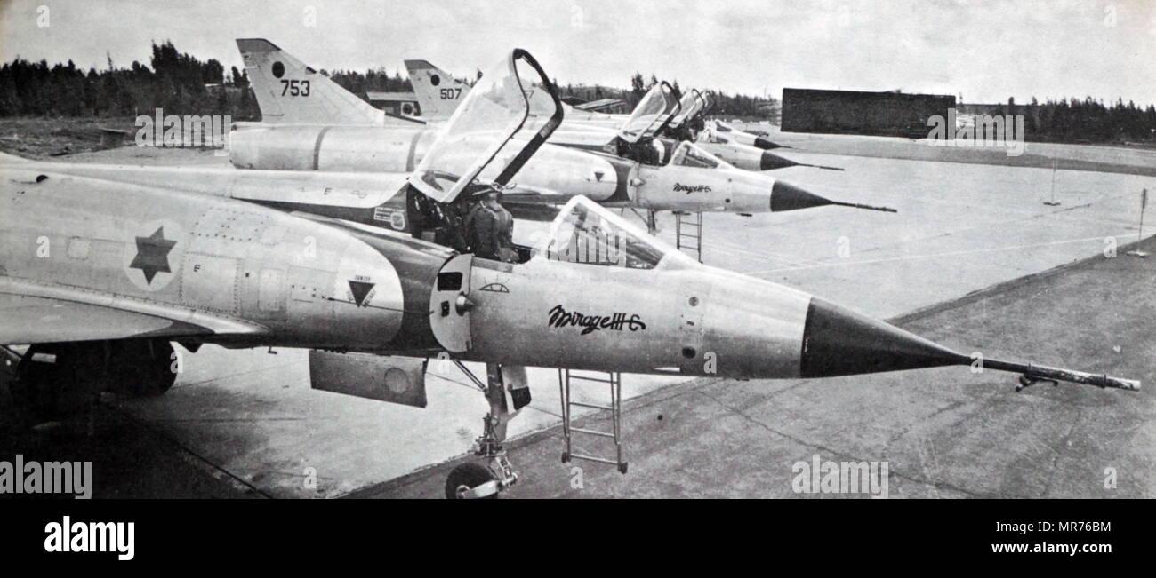 Israel Air Force, Dassault Mirage III, single-seat, single