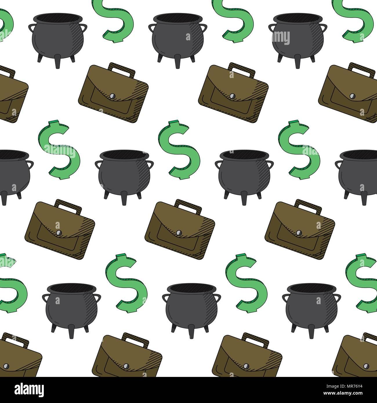 finance cash money things background - Stock Image