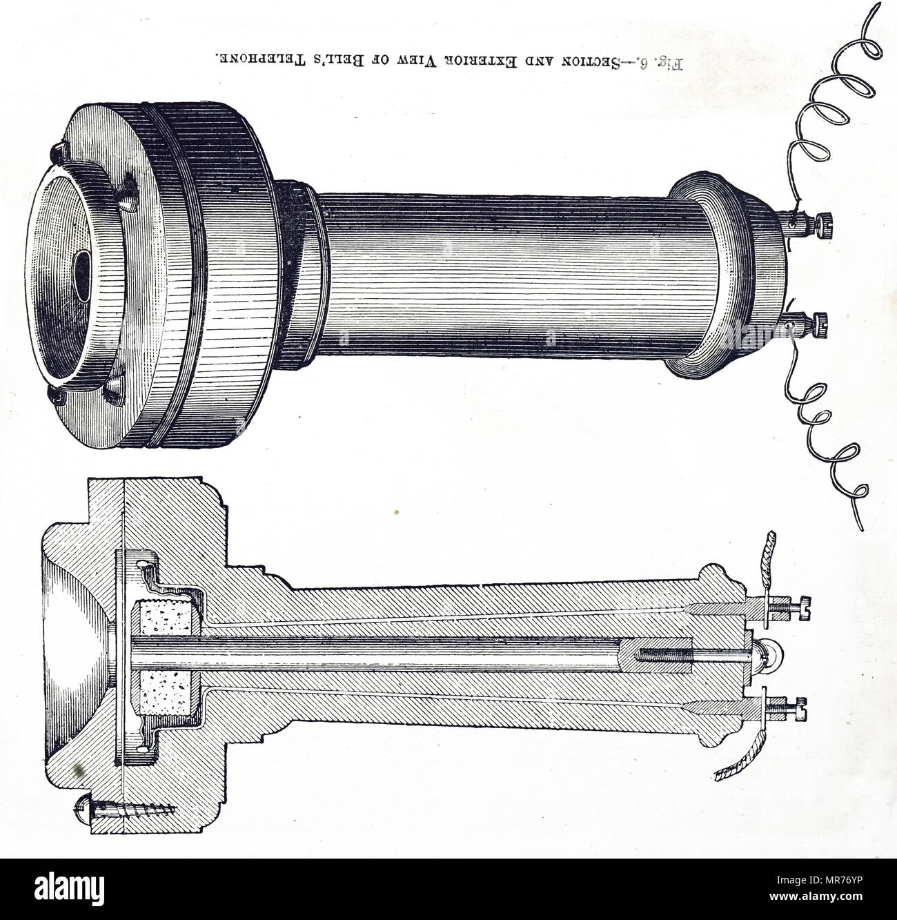 Illustrated Telephone Stock Photos Illustrated Telephone Stock