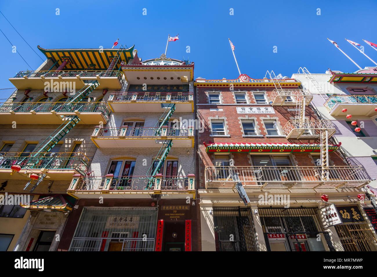 Chinatown, San Francisco, CA, USA. - Stock Image