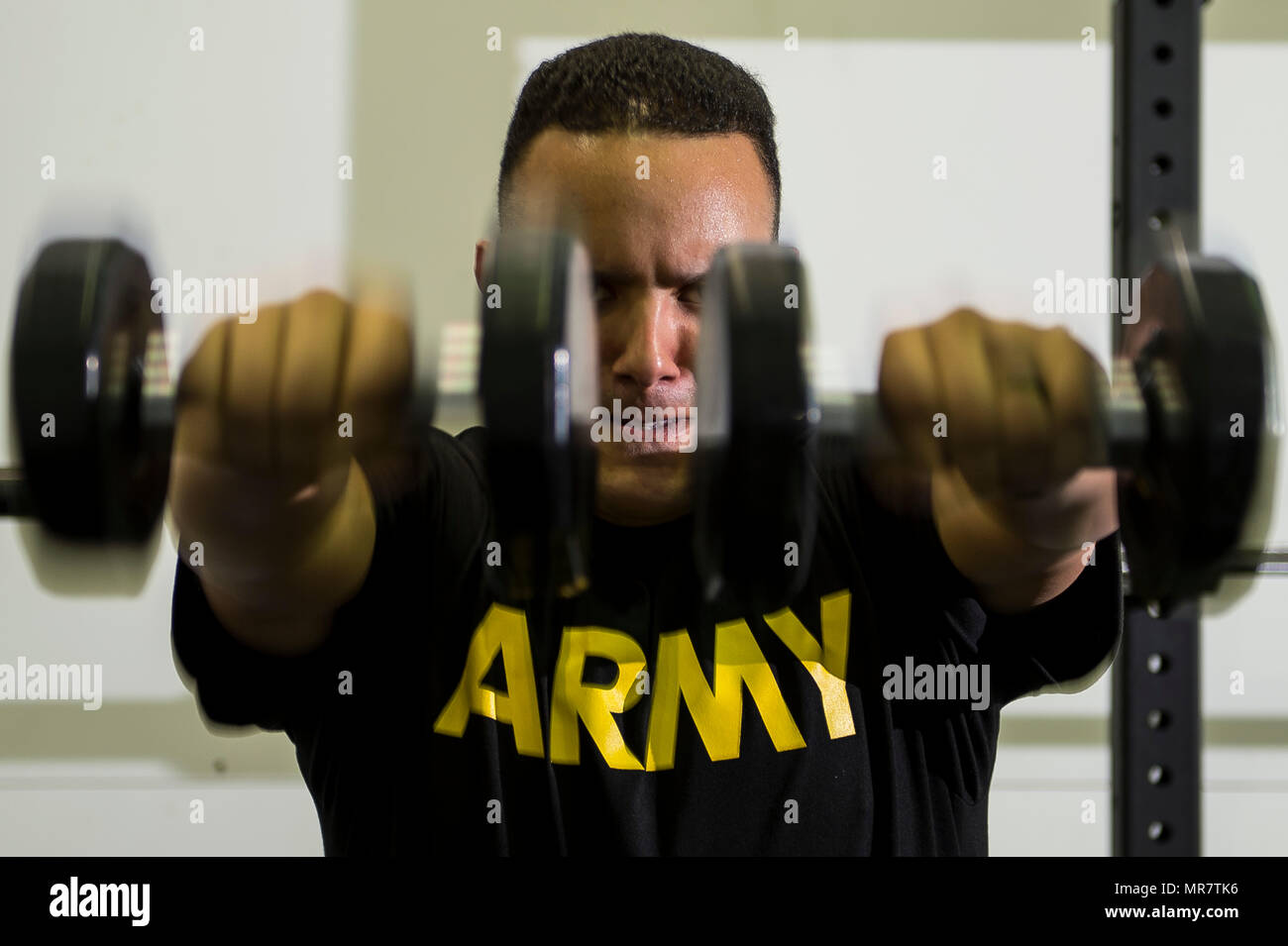 Spc  Hugo Matamoros, a U S  Army Reserve Soldier from the