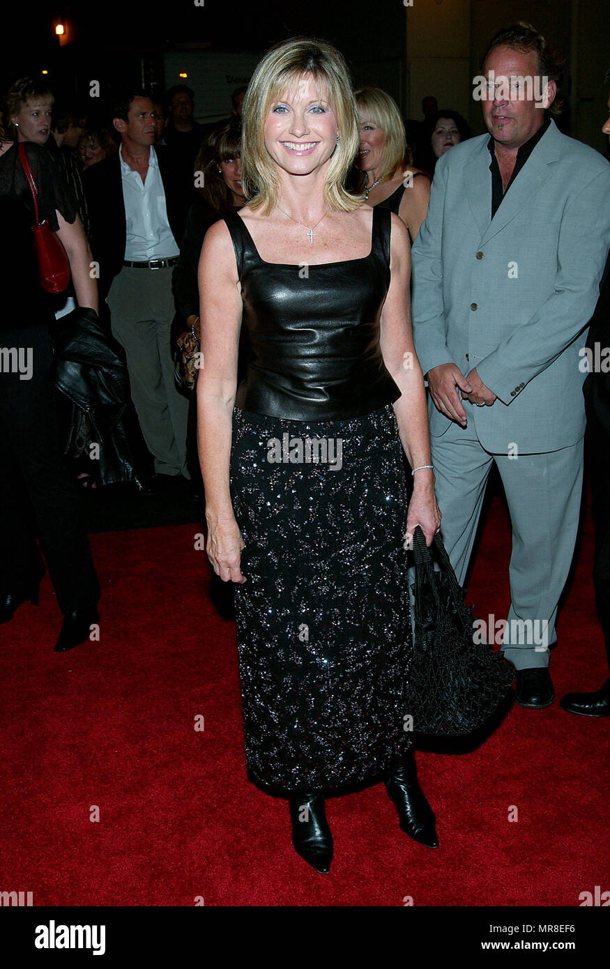 Olivia Newton Jones Arriving At The Party For Paramount DVD Release Of 70 Movies Grease Saturday Night Fever Flashdance Footloose Urban Cowboy