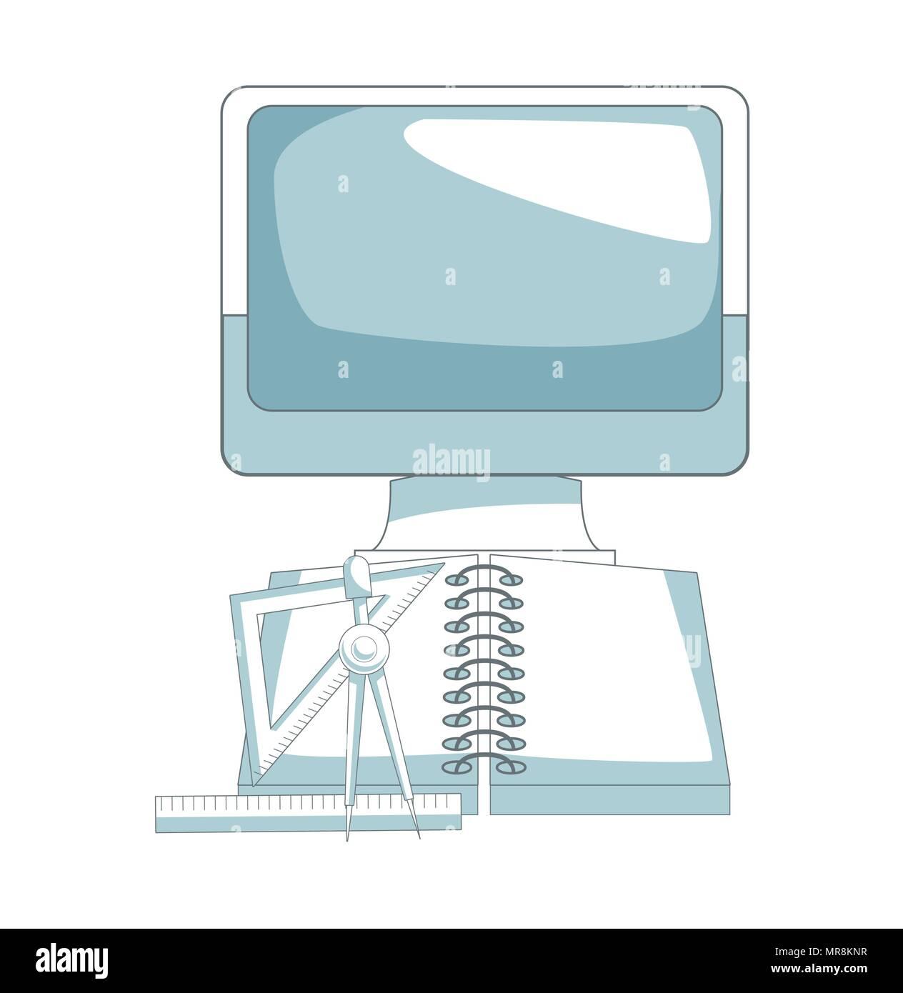 Digital graphic design - Stock Vector
