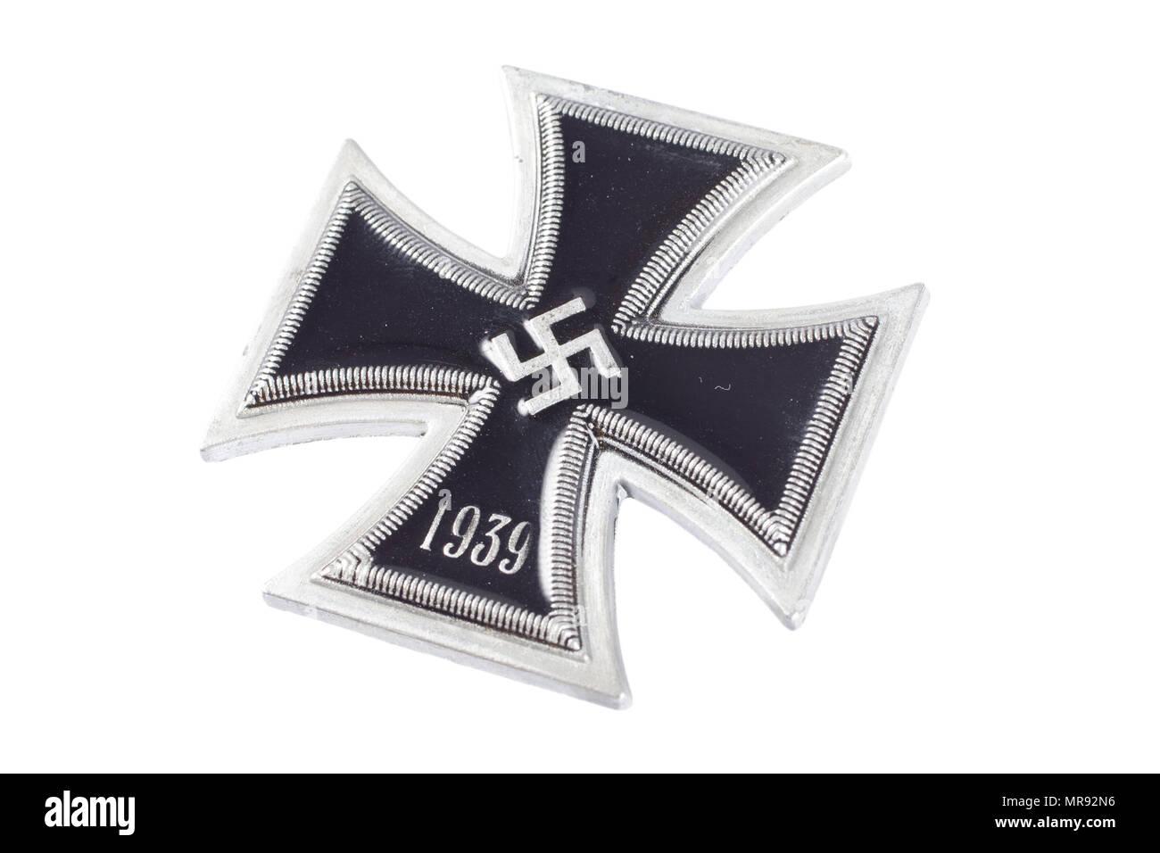 Iron Cross Medal For Bravery Stock Photos Iron Cross Medal For