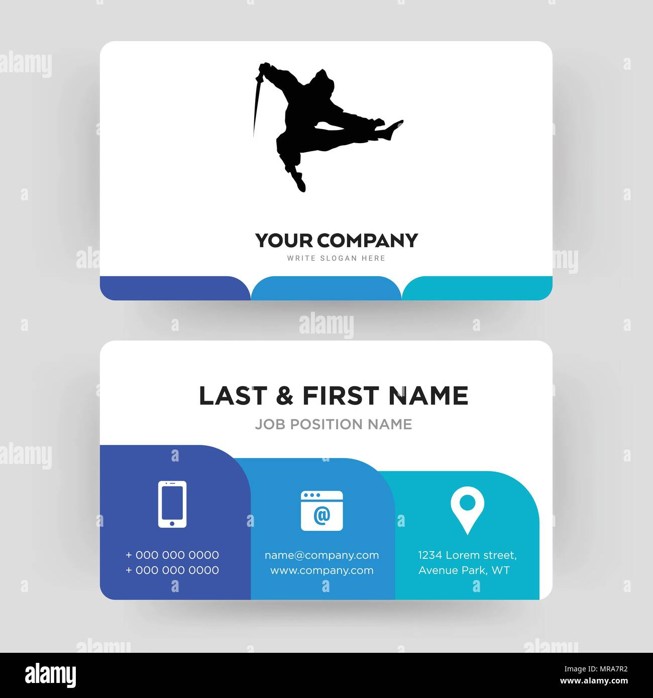 Ninja business card design inspiration